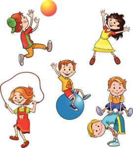 Physical Play Clipart.