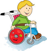 Physical disabilities clipart.