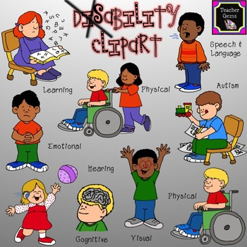 Physical disability clipart - Clipground