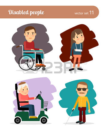 1,717 Physical Disabilities Stock Vector Illustration And Royalty.