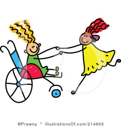 Disability awareness clipart.