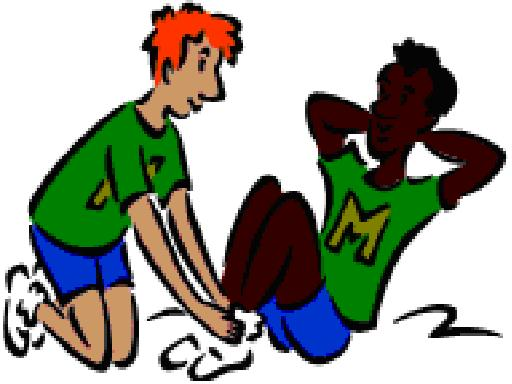 Physical Education Class Clipart.