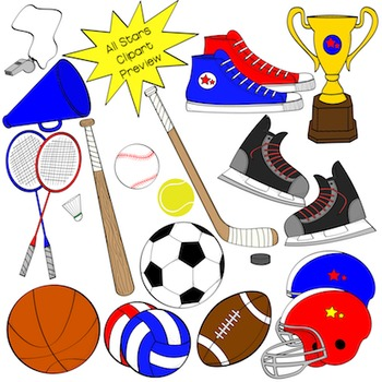 Sports and Physical Education Clipart.