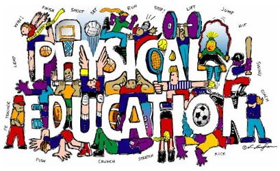 Physical education pictures clip art.