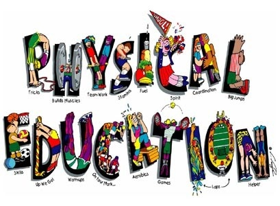 Free clipart physical education.