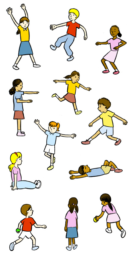 Pe physical education clipart 4.