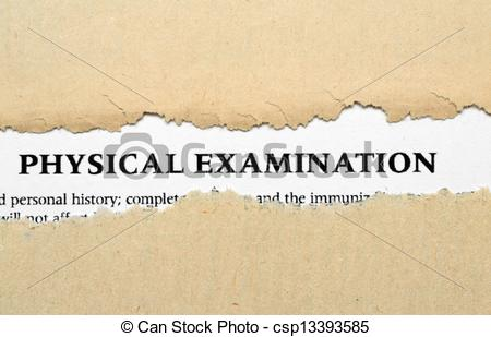 Stock Illustration of Physical examination csp13393585.
