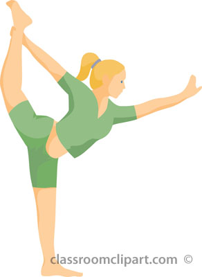 Fitness Physical Exercise Clipart.