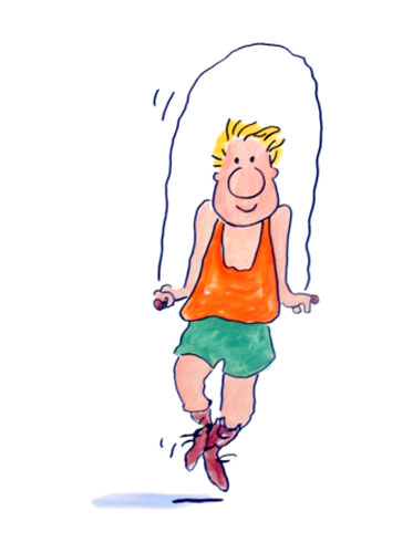 Exercise and Physical Activity Clip Art.