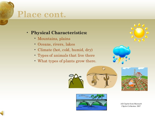 Described Physical Features Clipart Physical Features Of Kenya.