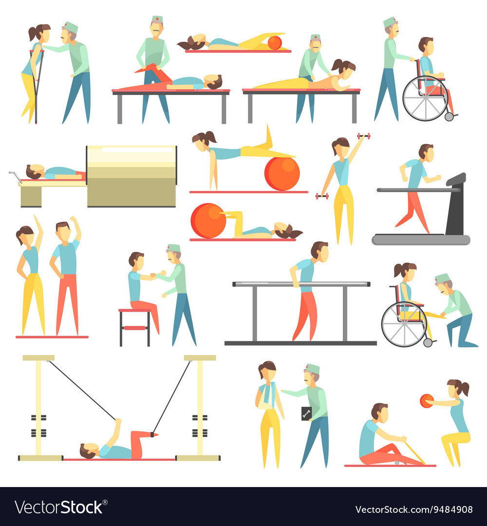 Physical Therapy Infographic.