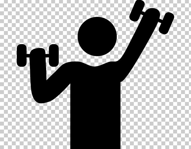 Weight Training Dumbbell Exercise Physical Fitness PNG.