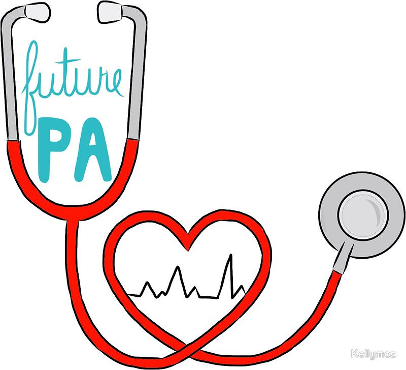 Future PA ( Physician Assistant )\' Sticker by Kellymoz.