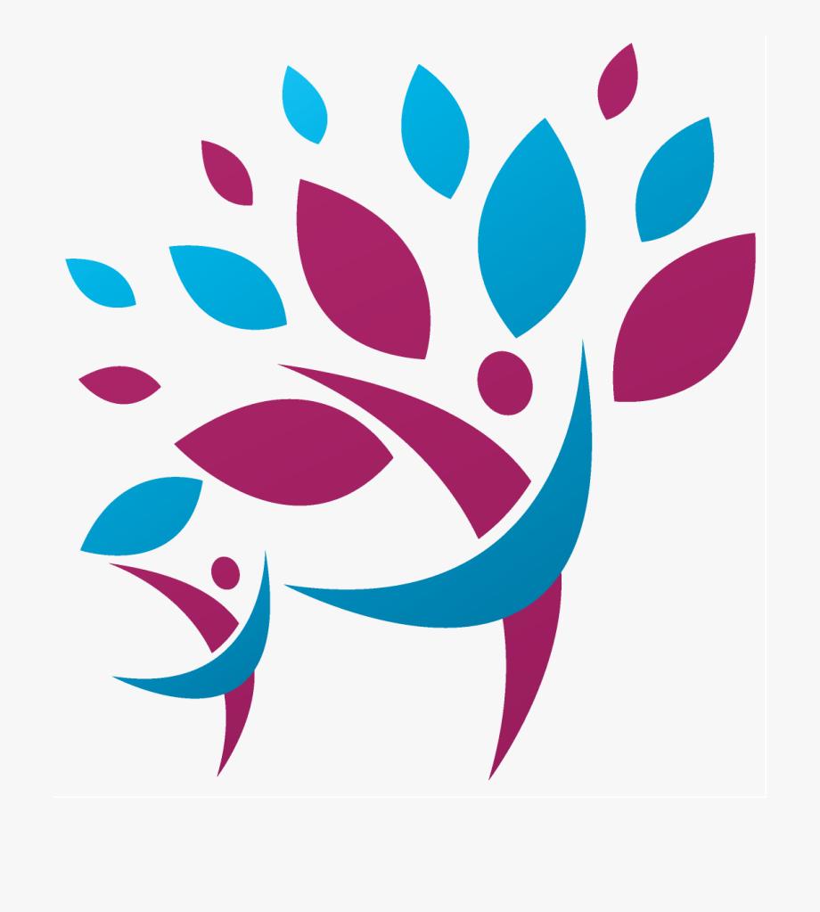Family Tree Logo Clip Art N2.