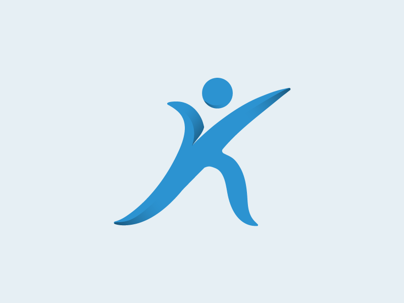 Klein physiotherapy logo by Lior Goldberg on Dribbble.