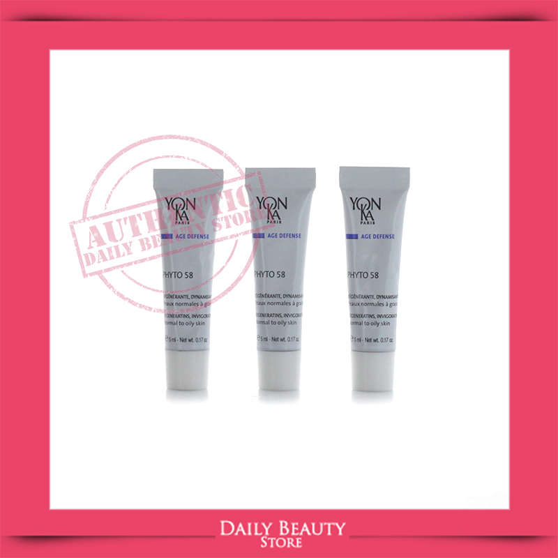 Details about Yonka Phyto 58 PNG Normal to Oily Skin 3 Samples NEW FASTSHIP.
