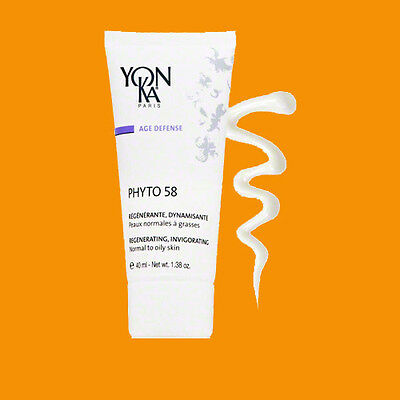 YONKA PHYTO 58 PNG PG NORM/OILY 40 ML / 1.4 OZ NEW RETAIL PACKAGE!  832630003256.