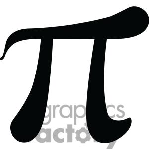 Pi Sign Clipart.