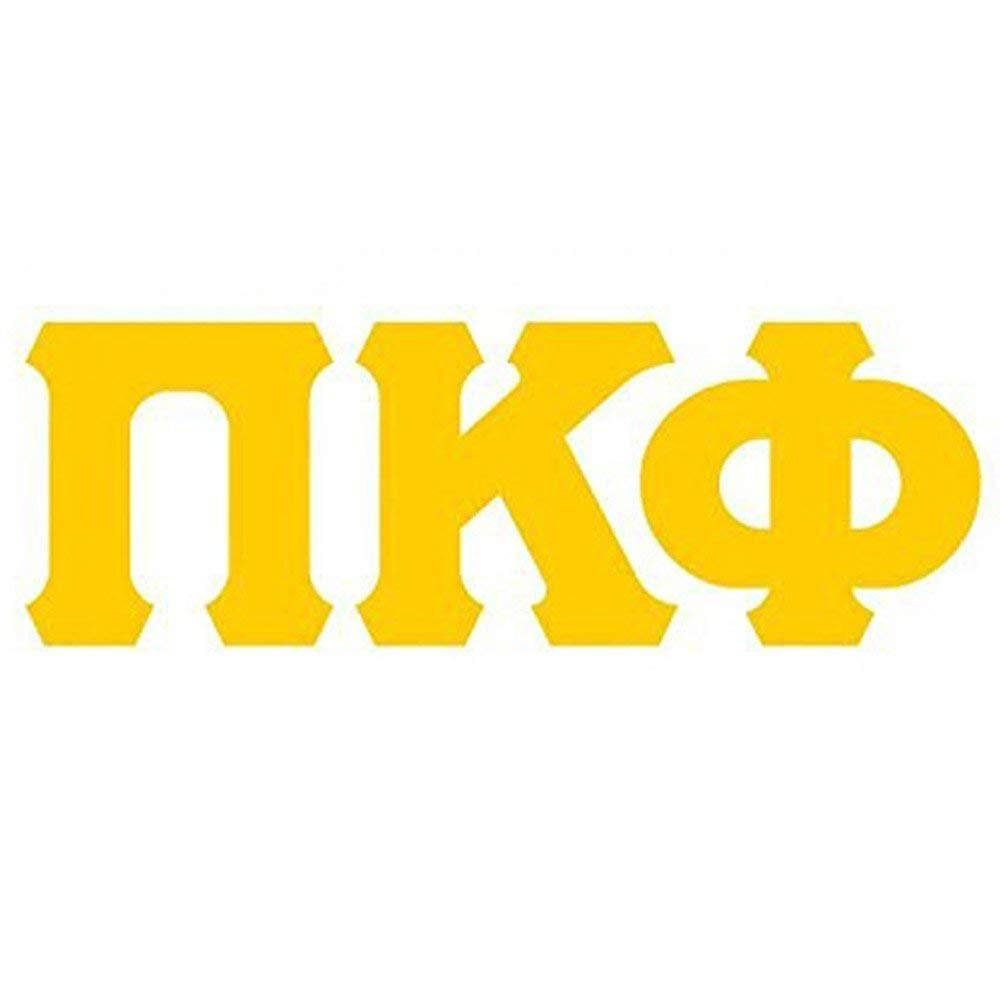 Amazon.com: Express Design Group Pi Kappa Phi PI PHI Big.