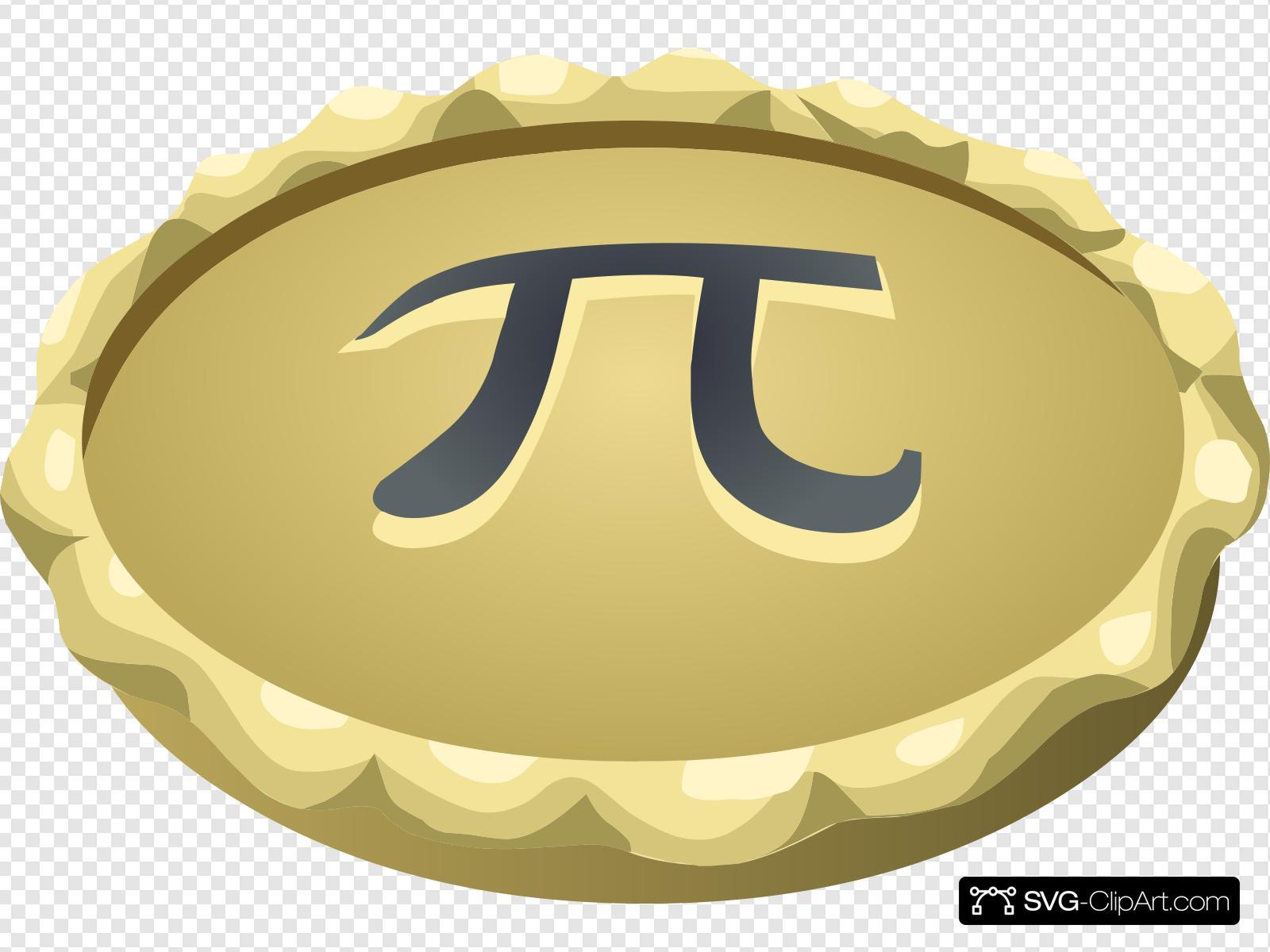 Pi Pie Clip art, Icon and SVG.