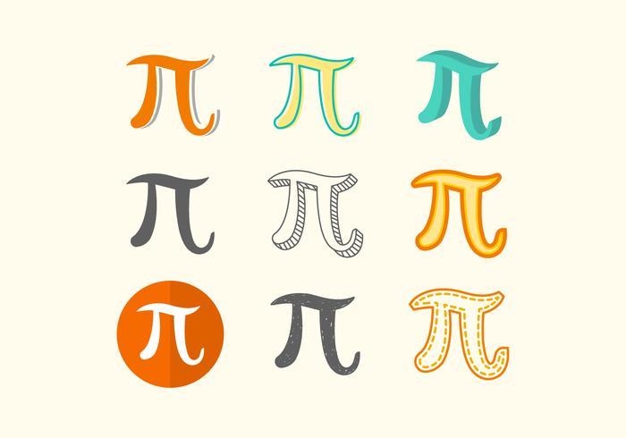 Free Pi Symbol Vector.