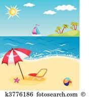 Spiaggia Illustrazioni Clipart. 78.815 spiaggia oltre 15.