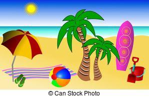 Spiaggia Illustrazioni e archivi di immagini artistiche. 118.249.