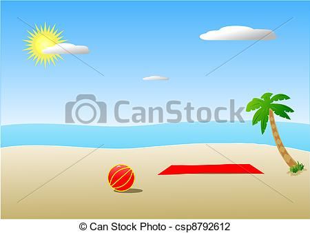Beach towel Illustrations and Clipart. 1,209 Beach towel royalty.