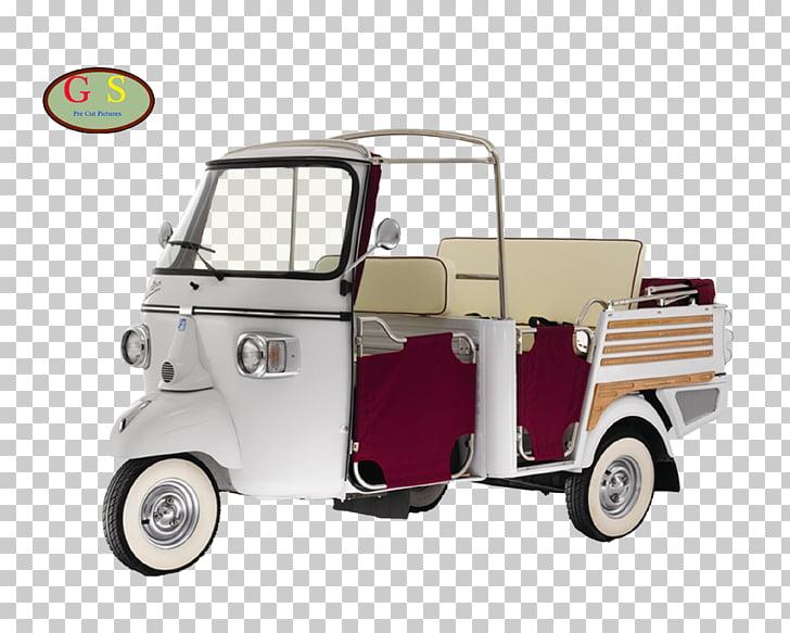 Piaggio Ape Car Auto rickshaw Scooter, car PNG clipart.