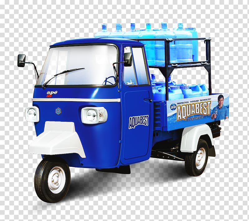 Motor vehicle Car Auto rickshaw Piaggio Van, vespa ape.