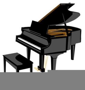 Piano Bar Clipart.