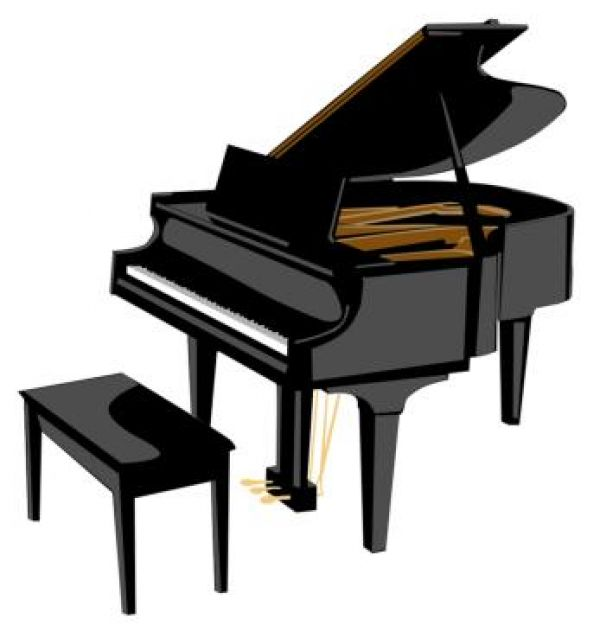 Free Clipart Piano.