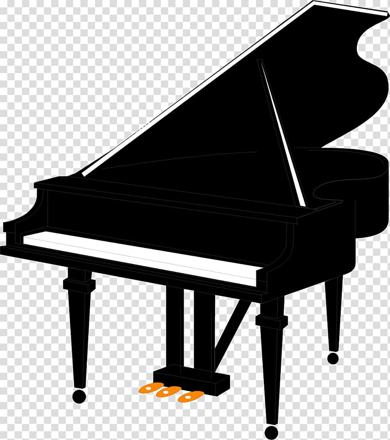 Grand piano Music Free content , Hand.