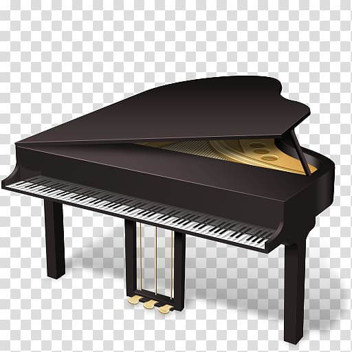 Piano, piano transparent background PNG clipart.