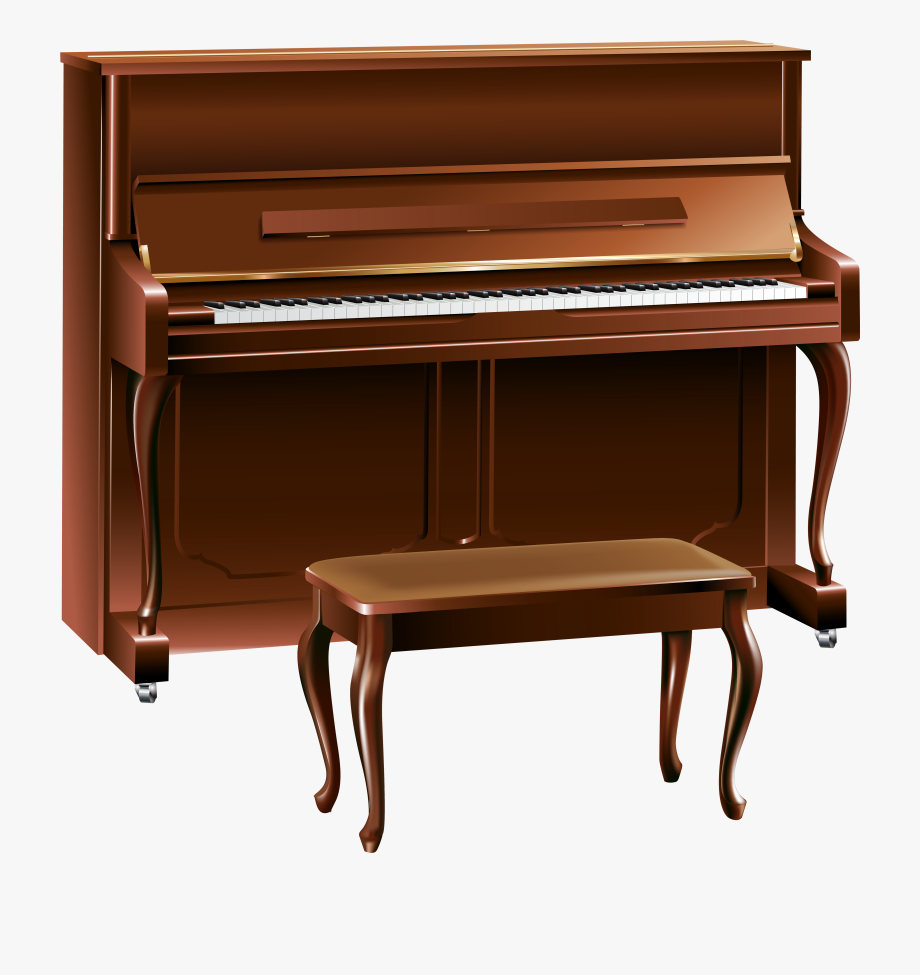 Brown Piano Png Clipart , Transparent Cartoon, Free Cliparts.
