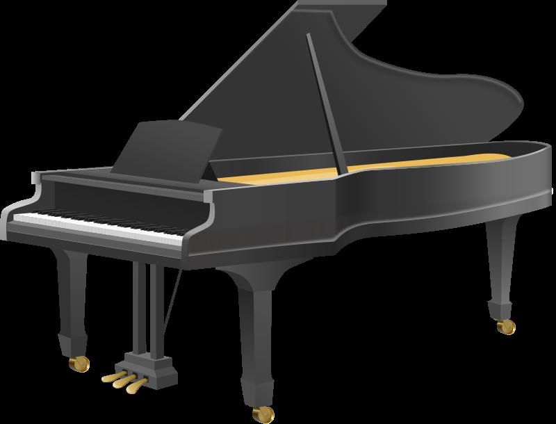 Free Clipart: Grand Piano.