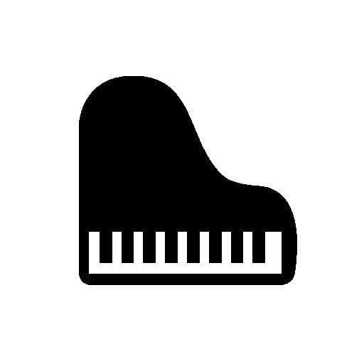 Piano Computer Icons Musical keyboard, Piano Icon.