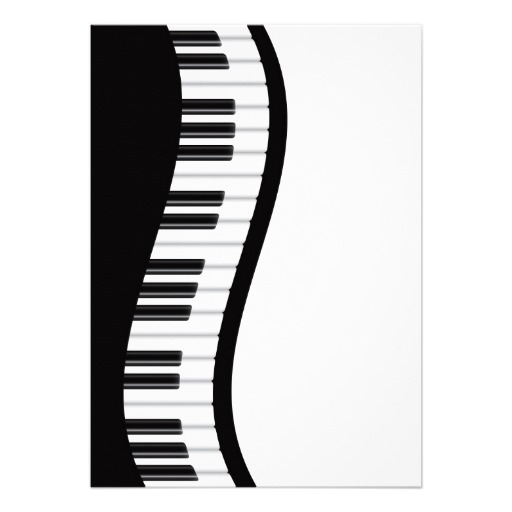 Piano Key Clipart.