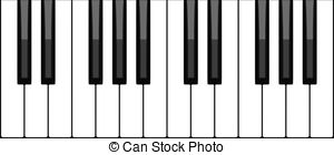 Piano keyboard Clipart and Stock Illustrations. 4,840 Piano.