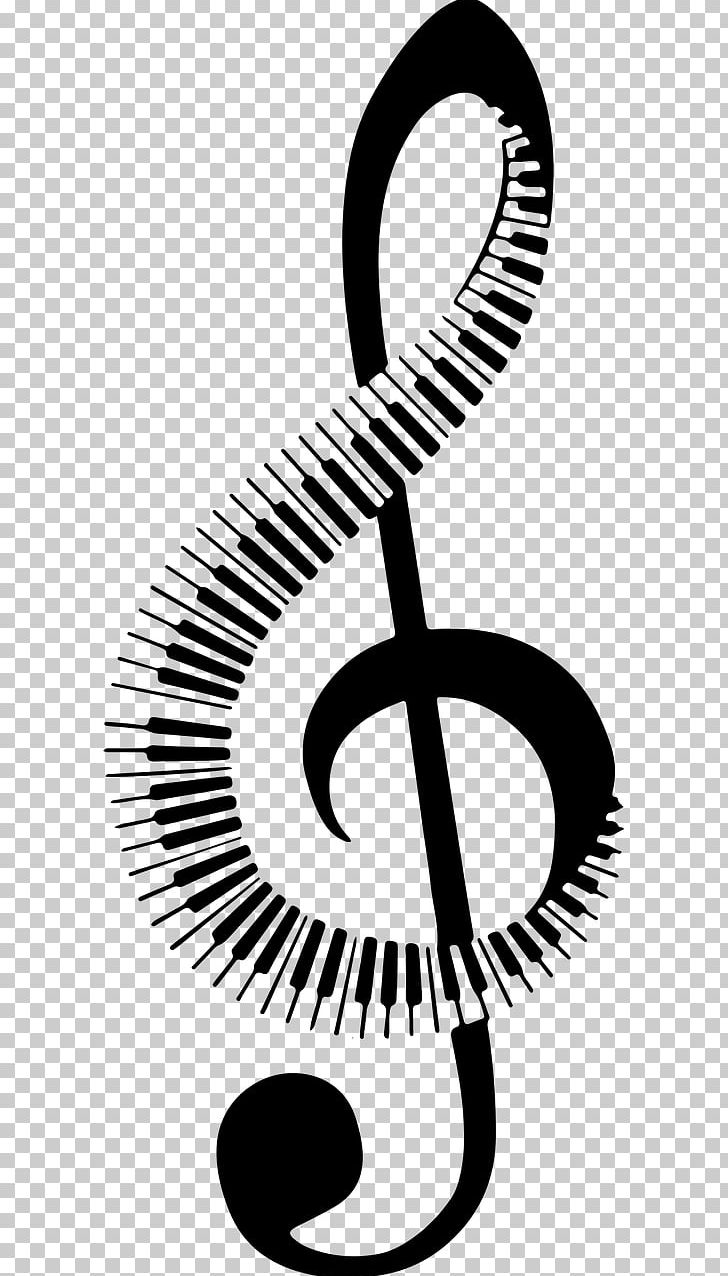 Musical Note Piano Keyboard PNG, Clipart, Black And White.