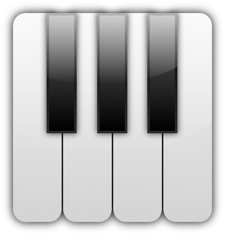 Piano Keys PNG.