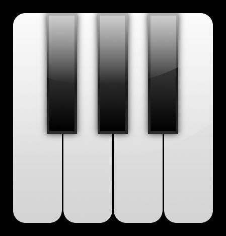 Piano Keys PNG.