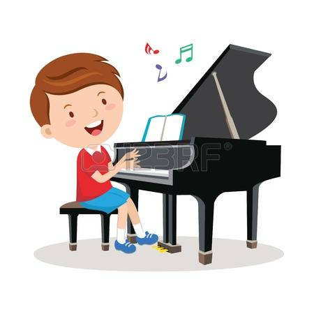347 Piano Lesson Stock Vector Illustration And Royalty Free Piano.