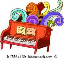 Piano lesson Clipart Illustrations. 130 piano lesson clip art.