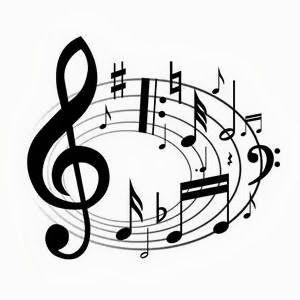 Piano music clipart #18