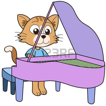 1,149 Piano Playing Stock Illustrations, Cliparts And Royalty Free.