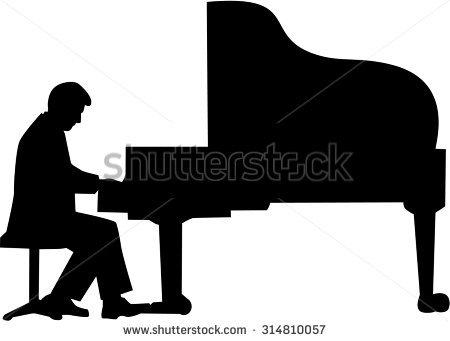 Piano Player Stock Photos, Royalty.