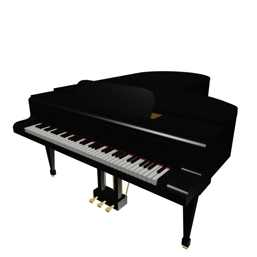 Piano PNG image free download.