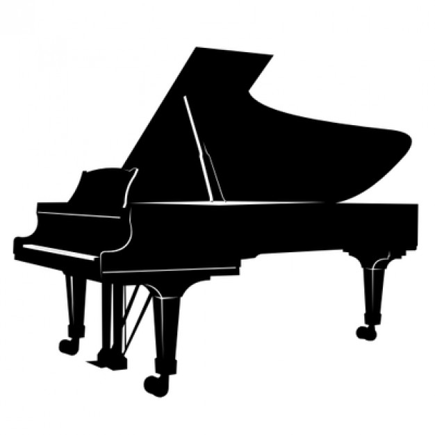 Free Piano Silhouette Cliparts, Download Free Clip Art, Free.