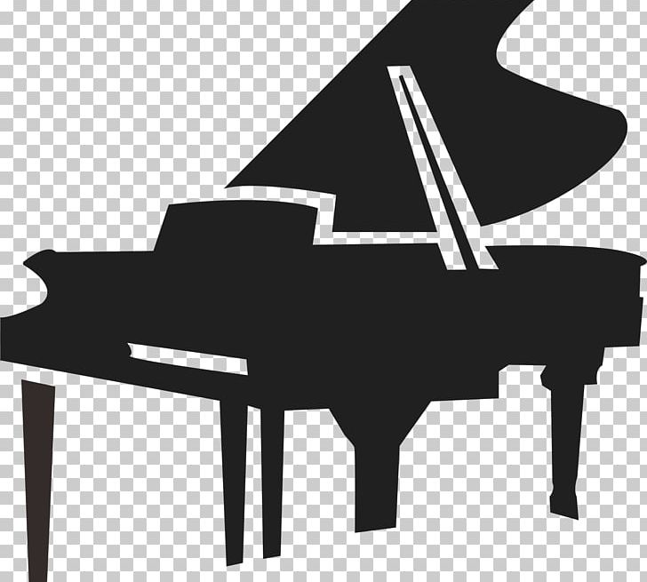 Piano Musical Instrument PNG, Clipart, Black, Black And.